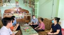 HĐND tỉnh giám sát thực hiện chính sách bảo trợ xã hội tại Đô Lương