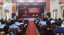 Đoàn đại biểu Quốc hội tỉnh Nghệ An tiếp xúc cử tri huyện Con Cuông, Anh Sơn