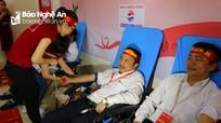 1.500 cán bộ, nhân viên ngành y Nghệ An dành giọt máu hồng cho người bệnh