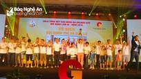 Đội UBND Thị xã Cửa Lò vô địch giải bóng đá Golden City mở rộng lần thứ 3