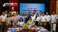 Báo Nghệ An và Tập đoàn TECCO ký kết quy chế phối hợp giai đoạn 2018-2020