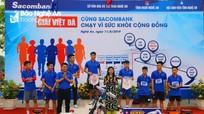 500 vận động viên tham gia giải việt dã vì sức khỏe cộng đồng
