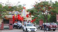 Người dân Tân Kỳ diễu hành mừng đội bóng Thiếu niên Vô địch Cúp Báo Nghệ An