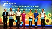 Bảo Việt Nhân thọ Bắc Nghệ An quay thưởng Chương trình 'Tháng 5 - Chào hè may mắn'