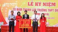 Trường THPT Diễn Châu 4  kỷ niệm 20 năm ngày thành lập
