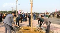 Nghệ An phát động Tết trồng cây 'Đời đời nhớ ơn Bác Hồ' Xuân Canh Tý