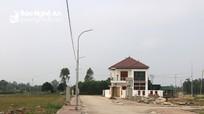 Đất nền khu vực ngoại thành và vùng nông thôn Nghệ An tăng cao