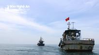 Nghệ An lập đoàn kiểm tra đánh bắt thủy sản và hậu cần nghề cá trên biển