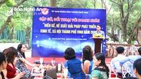 Doanh nhân hiến kế phát triển đô thị thành phố Vinh