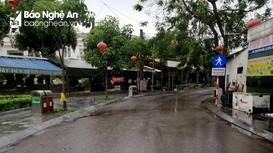 TP. Vinh: Nước rút nhanh trên các tuyến đường sau mưa lớn