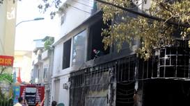 Thông tin ban đầu về danh tính 6 nạn nhân tử vong trong vụ cháy phòng trà ở TP.Vinh