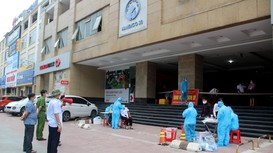 TP Vinh: Phong tỏa, xét nghiệm toàn bộ người dân chung cư Handico 30 ở phường Quang Trung