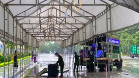 Nghệ An dời điểm đón công dân miền Nam về lại cầu Bến Thủy 2