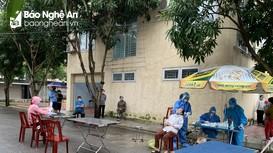 Chiều 19/10, Nghệ An ghi nhận 8 ca nhiễm Covid-19 mới, trong đó có 2 ca cộng đồng