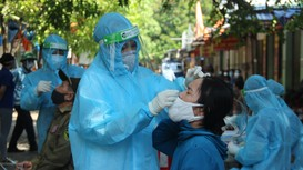 TP. Vinh phong tỏa 24 hộ dân liên quan đến các ca nhiễm Covid-19 mới