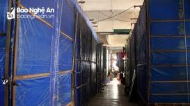 Vì sao nhiều tiểu thương TP Vinh vẫn đóng cửa hàng dù chợ đã hoạt động trở lại?