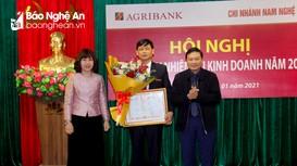 Agribank chi nhánh Nam Nghệ An triển khai nhiệm vụ kinh doanh năm 2021
