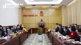 Tổ chức JICA sẽ tiếp tục hỗ trợ Nghệ An xuất khẩu sản phẩm sang Nhật