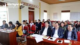 Chủ tịch UBND tỉnh Nguyễn Đức Trung dự sinh hoạt chi bộ tại xã Kim Liên (Nam Đàn)