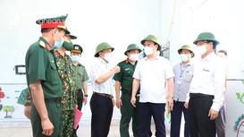 Chủ tịch UBND tỉnh: Chủ động, quyết liệt để khống chế, kiểm soát dịch Covid-19 ở Diễn Châu