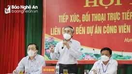 Kết luận của Phó Chủ tịch UBND tỉnh Nghệ An tại đối thoại về dự án công viên sinh thái vĩnh hằng