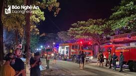 Bộ Công an vào cuộc điều tra vụ cháy phòng trà làm 6 người tử vong ở Nghệ An