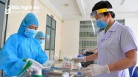 Nghệ An tăng cường phòng, chống dịch Covid-19 sau các ca dương tính tại Hải Dương và Quảng Ninh