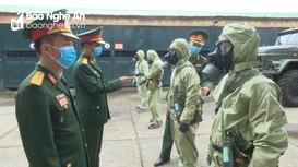 'Lá chắn thép' trên trận tuyến phòng chống dịch Covid-19, giúp nhân dân đón Tết bình yên