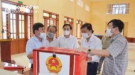 Phó Chủ tịch Thường trực UBND tỉnh kiểm tra công tác chuẩn bị bầu cử tại 4 địa phương