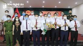 Thị xã Hoàng Mai bầu các chức danh chủ chốt HĐND, UBND