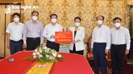 TP. Hồ Chí Minh và Nghệ An trao đổi, chia sẻ kinh nghiệm công tác phòng, chống dịch Covid-19