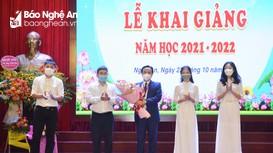 Trường Đại học Y khoa Vinh khai giảng năm học 2021-2022  