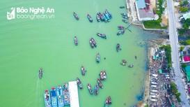 Đội thuyền 'nước mắm' Cửa Hội