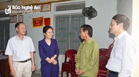Ban Chỉ đạo, Ủy ban bầu cử tỉnh kiểm tra thực tế tại thị xã Cửa Lò