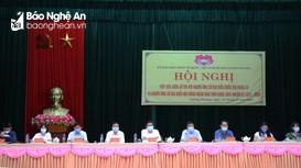 Ứng cử viên đại biểu Quốc hội và HĐND tỉnh tiếp xúc cử tri tại huyện Tương Dương