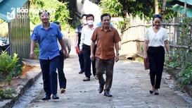 Kiểm tra việc cấp, phát báo Đảng cho người có uy tín ở Con Cuông, Tương Dương  