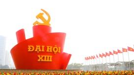 Ngày 25/1, Đại hội XIII của Đảng bắt đầu ngày làm việc đầu tiên