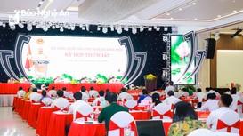 Hội đồng nhân dân tỉnh Nghệ An triệu tập kỳ họp thứ hai, khóa XVIII