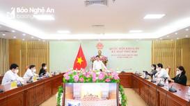 Đoàn đại biểu Quốc hội Nghệ An thảo luận tại tổ về 2 dự án luật
