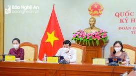 Quốc hội thảo luận trực tuyến về dự án Luật Sửa đổi, bổ sung một số điều của Luật Sở hữu trí tuệ