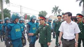 Nâng cao chất lượng tổ chức xây dựng lực lượng dân quân tự vệ