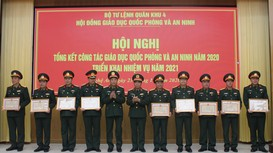 Bộ Tư lệnh Quân khu 4 triển khai nhiệm vụ giáo dục quốc phòng và an ninh năm 2021