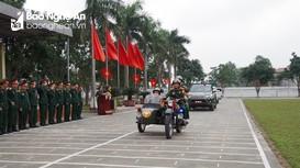 Bộ CHQS tỉnh xuất quân bảo vệ Đại hội Đại biểu toàn quốc lần thứ XIII của Đảng