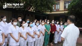 33 y, bác sĩ Quỳ Châu chi viện giúp Quế Phong phòng, chống dịch Covid-19