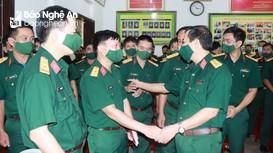 Bộ CHQS Nghệ An giao nhiệm vụ mới cho Đội Quy tập hài cốt liệt sĩ ở nước bạn Lào