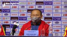 Thầy Park nói gì ở họp báo sau trận U23 Việt Nam thắng U23 Đài Bắc Trung Hoa?