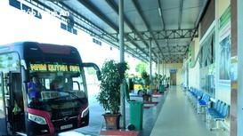 Nhiều tuyến xe ngoại tỉnh đi và đến Nghệ An buộc phải hủy chuyến do dịch bệnh