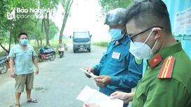 Phát hiện nhiều vi phạm nhằm 'lách' chốt kiểm soát dịch Covd-19 ở TP Vinh