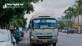 Nghệ An: Xe khách nội tỉnh hoạt động trở lại, xe liên tỉnh vẫn dừng với nhiều địa phương