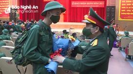 Tỉnh Nghệ An hoàn thành xuất sắc nhiệm vụ giao quân năm 2021